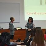 Майстер-клас «Right Measurements» за участю викладача англійської мови Амбасади США (м. Київ) Тадеуша Маклеарі