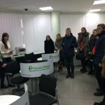 Екскурсія до Центрального відділення ПАТ КБ «ПриватБанку» у м.Вінниця