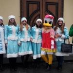 Участь студентів ВТЕІ КНТЕУ в святковій ході, організатором  якої виступила Вінницька міська рада