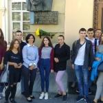 Студенти вшановують пам'ять Михайла Коцюбинського