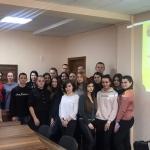 У ВТЕІ КНТЕУ відбулося відкрите засідання студентського  наукового гуртка «Феміда»