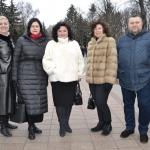Адміністрація ВТЕІ КНТЕУ взяла участь в урочистостях з нагоди відзначення Дня Соборності України