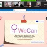 У ВТЕІ КНТЕУ відбувся перший тренінг «Розвиток підприємницьких soft skills» з циклу тренінгів проєкту «WECAN»