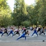 У ВТЕІ КНТЕУ відбувся флеш-моб «Живи та рухайся» з нагоди відзначення Дня фізичної культури і спорту України