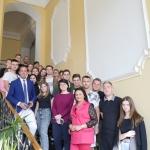Відбулася зустріч здобувачів вищої освіти ВТЕІ КНТЕУ з  Михайлом Ганчуком