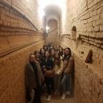 Здобувачі вищої освіти взяли участь в екскурсії підземеллями та катакомбами храму Діви Марії Ангельської