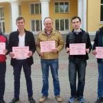 Студенти ВТЕІ КНТЕУ прийняли участь в першому етапі Всеукраїнської олімпіади з програмування